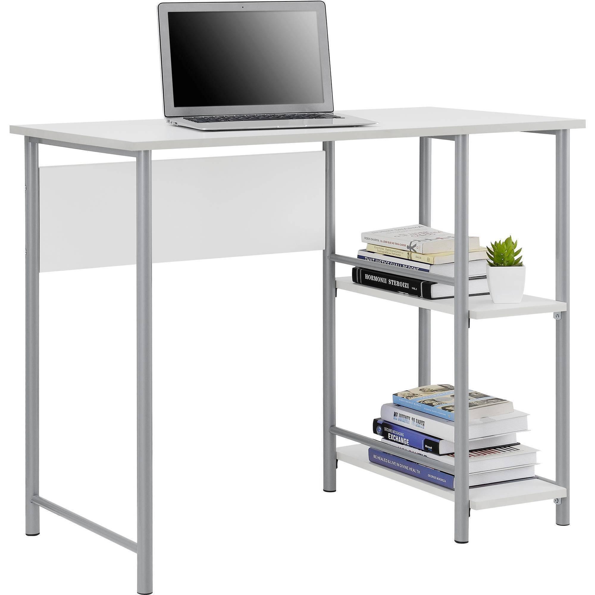 69 Computer Desk Silver